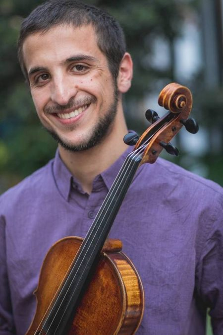Yoav Yatskan, viola. Photo courtesy of the artist.